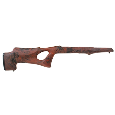 Hogue 10/22 Overmolded Stock Tac Thumbhole, .920 Barrel, Red Lava