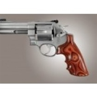 Hogue S&W N Frame Round Butt Grip Rose Laminate Convert