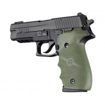 Hogue Sig P226 Grips Rubber w/Finger Grooves, Olive Drab Green