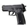 Hogue Sig P228/P229 Grips Checkered Aluminum Matte Black Anodized