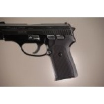 Hogue Sig P239 Grips Checkered Aluminum Matte Black Anodized