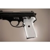 Hogue Sig P239 Grips Checkered Aluminum Brushed Gloss Clear Anodized