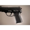 Hogue Sig P239 Grips Checkered Aluminum Brushed Gloss Black Anodized