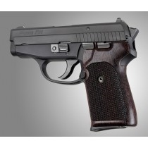 Hogue Sig P238 Grips Rosewood Checkered