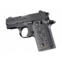 Hogue Sig P238 Grips G-10 G-Mascus Black/Gray