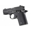Hogue Sig P238 Grips G-10 Solid Black