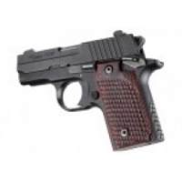 Hogue Sig P238 Grip Pirahna G-10 G-Mascus Red Lava