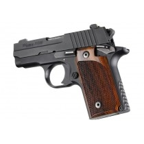 Hogue Sig P238 Grips Coco Bolo Checkered