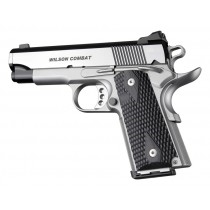 Hogue Colt & 1911 Officer's Grips Pirahna G-10 Solid Black