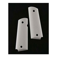 Smooth Ivory Polymer Pistol Grips - Hogue Scrimshaw