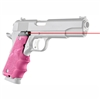 Hogue LE Government Rubber Laser Grip w/Finger Grooves Pink