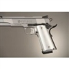 Hogue Colt & 1911 Government Grip Aluminum Brushed Gloss Clear Anodized