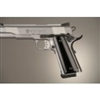 Hogue Colt & 1911 Government Grip Aluminum Brushed Gloss Black Anodized
