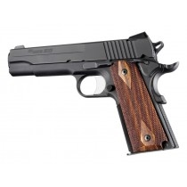 Hogue Colt & 1911 Government Grips Goncalo Alves, Checkered