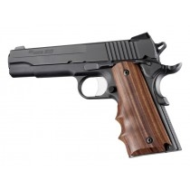 Hogue Wood Grips - Pau Ferro Colt Government w/Finger Grooves