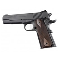 Hogue Colt & 1911 Government Grips Pau Ferro, Checkered