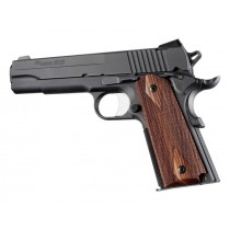 Hogue Colt & 1911 Government Grips Kingwood, Checkered