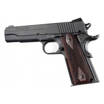 Hogue Colt & 1911 Government Grips Rosewood, Checkered