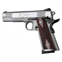 Hogue Colt & 1911 Government S&A Mag Well Grips Rosewood, Checkered