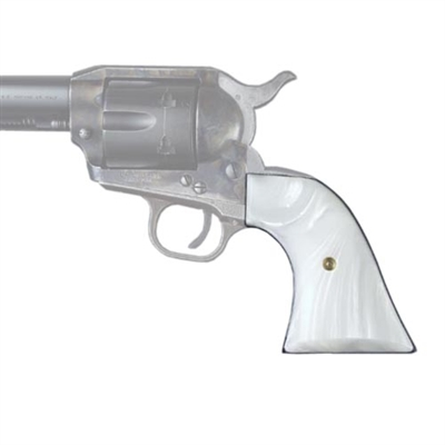 Hogue Colt SA White Pearl Cowboy Panels