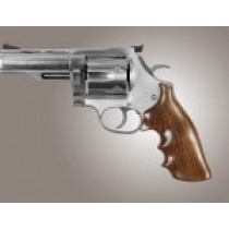 Hogue Wood Grips - Pau Ferro Dan Wesson Large Frame Round Tang