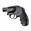 Hogue S&W J Frame Round Butt Grip Centennial/Body Guard Rubber, Tamer Grip