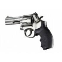Hogue Rubber Grip for S&W K & L Frame Round Butt, Bantam Grip