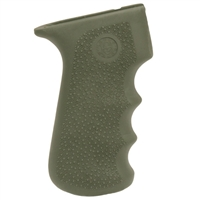Hogue AK-47 Rubber Grip w/Finger Grooves Olive Drab