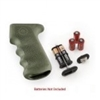 Hogue AK-47 Rubber Grip w/Storage Kit Olive Drab Green