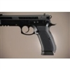 Hogue CZ-75/CZ-85 Grips Checkered Aluminum Matte Black Anodized