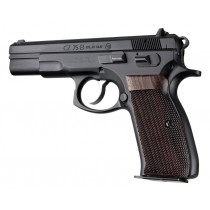 Hogue CZ-75/TZ-75 P9 Grips Rosewood Checkered