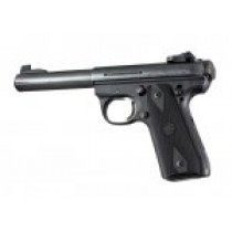 Hogue Rubber Ruger 22/45 Grip Black with Diamond Checkering