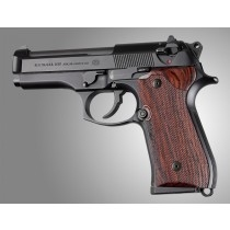 Hogue Beretta 92 Cocobolo Checkered Hardwood Grip