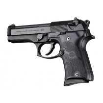 Hogue Rubber Grip for Beretta 92FS Compact Panel Style