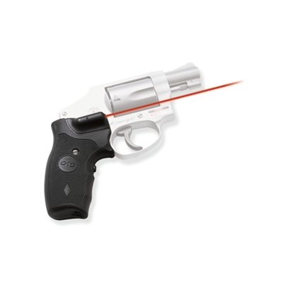 Crimson Trace Smith and Wesson J Round Butt Overmold, Front Activation, Full Grip