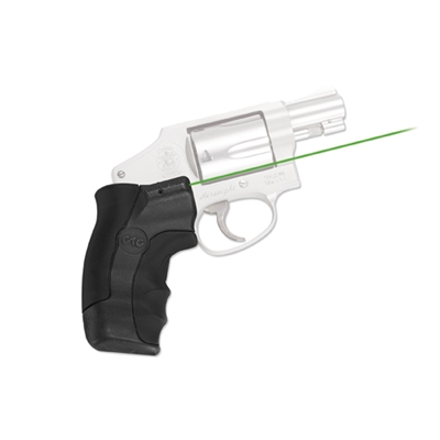 Crimson Trace Smith and Wesson J-Frame Round Butt Lasergrip, Green