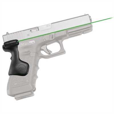 Crimson Trace Glock Gen 3(17,17L,22,31,34,35, 37) Laser Grip, Rear Activation, Green