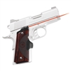 Crimson Trace 1911 Officer's/Compact/Defender Master Series, Rosewood