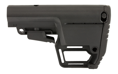 Mission First Tactical, Battlelink Stock, 6-Position, Mil Spec, Utility, M4 Collapsible Stock, Black