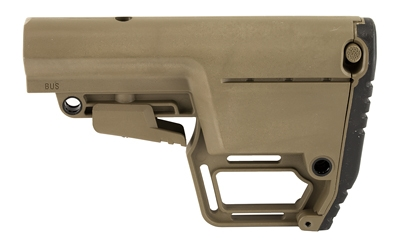 Mission First Tactical, Battlelink Stock, 6 Position, Mil Spec, Utility, M4 Collapsible Stock, Scorched Dark Earth