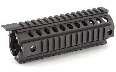 "Mission First Tactical, Tekko Metal AR Carbine Integrated Rail System, Replaces Factory Handguard, 7"" Drop In Integrated Rail System, Black"
