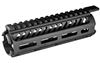 "Mission First Tactical, Tekko, Drop-In M-LOK Rail System, Fits AR-15 Carbine, 7"" Length, Metal, Black Finish"