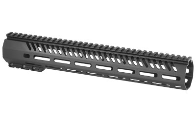 "Mission First Tactical, Tekko, MLOK Rail System, Fits AR Rifles, 13.5"", Free Float, Metal, Black Finish"