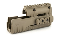 Mission First Tactical, Poly 47 Forend, for AK-47, with Picatinny Rail, Scorched Dark Earth