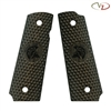 VZ Grips Diamond Back Green Black Linen Molon # 2 Engraving Standard Grip