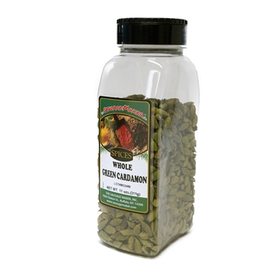 Cardamom, Whole, Green, 11 oz.
