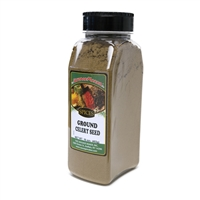 Celery Seed, Ground, 16 oz.