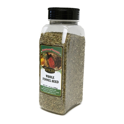 Fennel Seed, Whole, 14 oz.