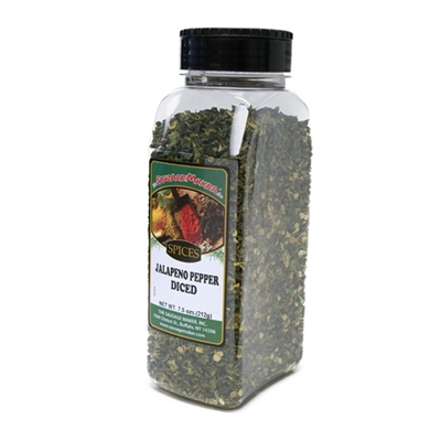 Jalapeno Pepper, Diced (4K), 7.5 oz.