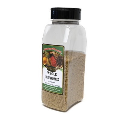 Mustard Seed, Ground, 13 oz.